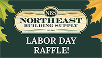 North East Building Supply - Labor Day Raffle