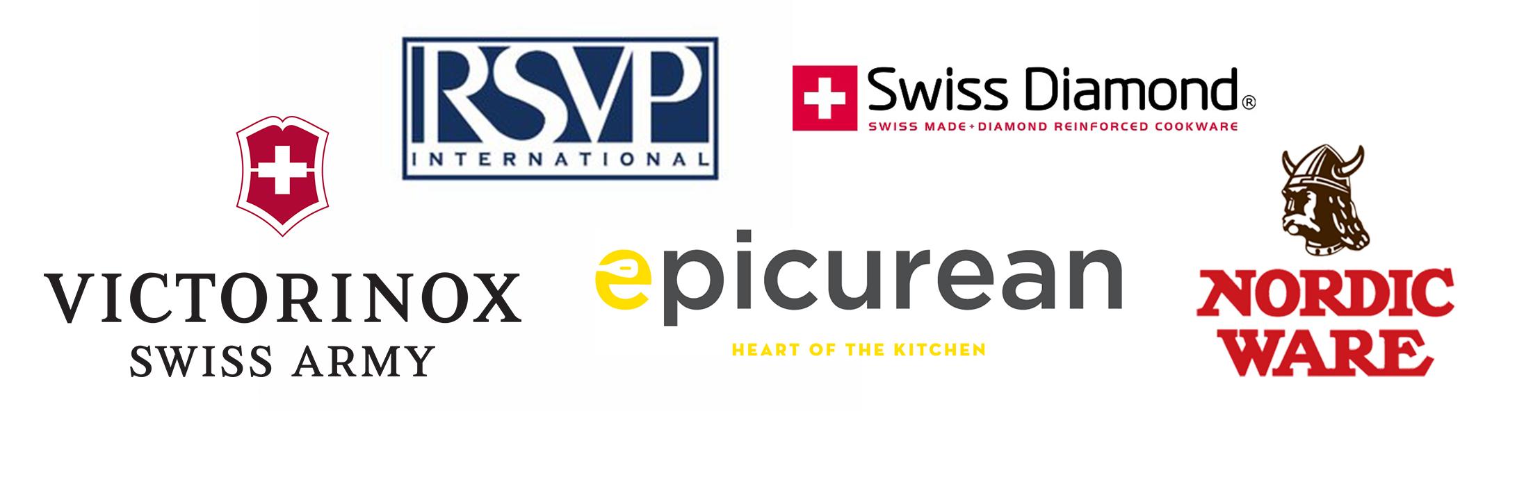 Housewares Demo Flyer logos