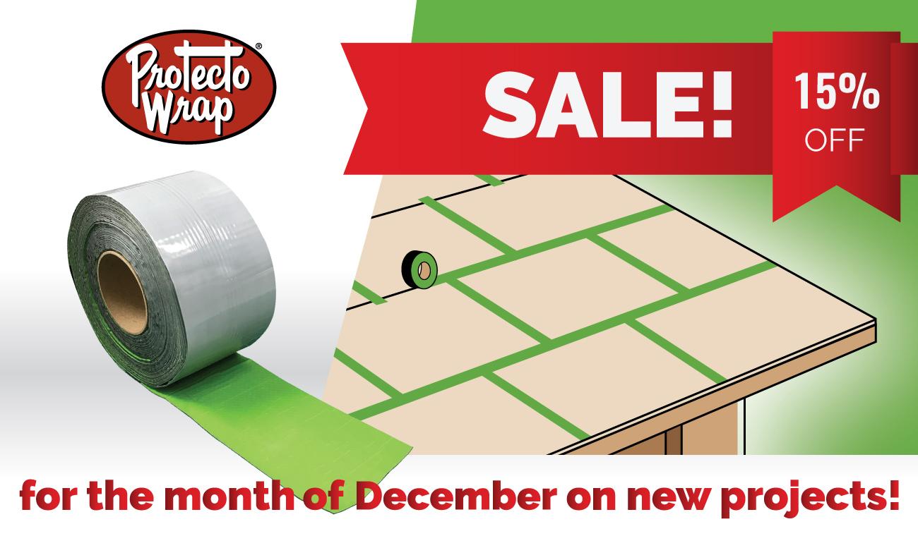 Roof Deck Seam Tape design