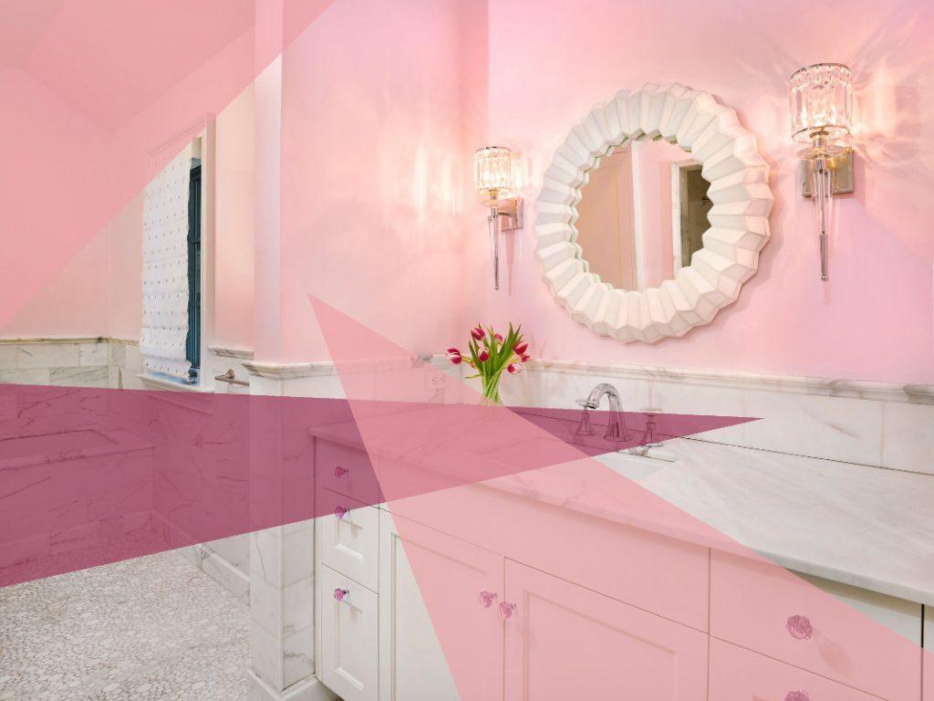 best bathroom paint colors cotton candy