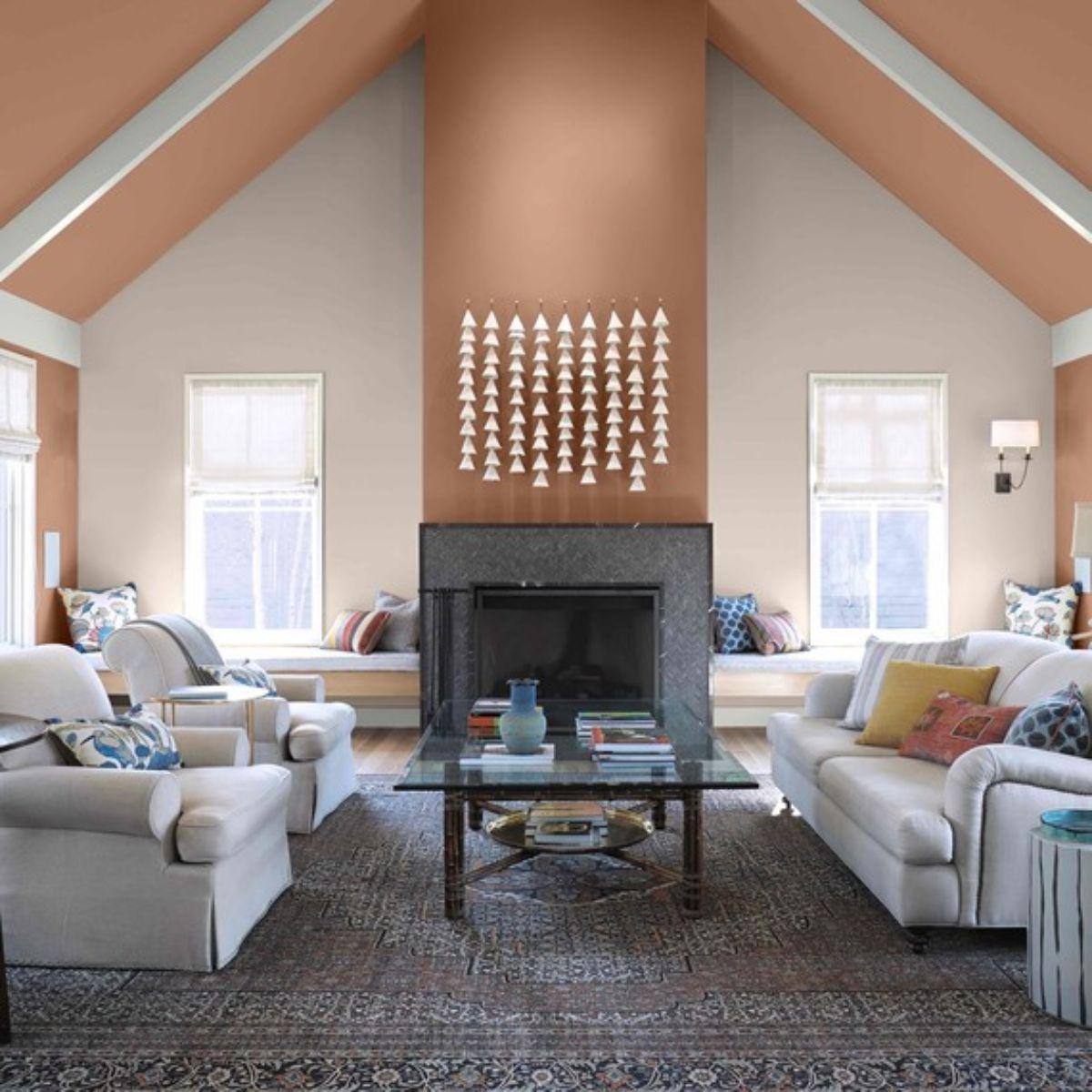behr paint color combo brown orange 0719 sq