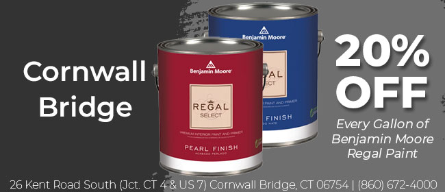 Feb 21 Cornwall Paint Ad
