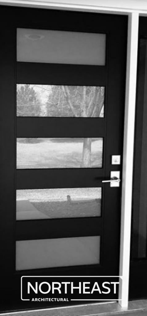 Northeast Architectural steel security doors