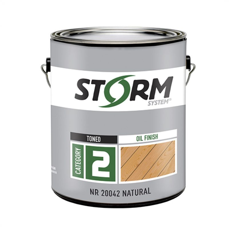 Every Gallon of Storm Stain and Storm Cleaner