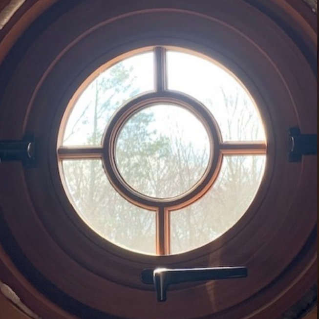 Northeast Architectural New Canaan Small Round Windows That Open